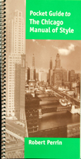 Pocket Guide To Chicago Manual Of Style