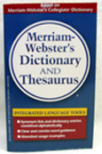 M-W Dictionary And Thesaurus