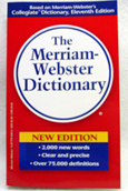 M-W  Dictionary Mass Market Updated 2004