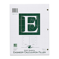 Engineering Filler Paper, 500 Sheets