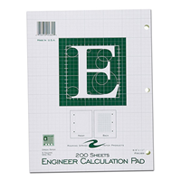 Engineering Pad, 200 Sheets