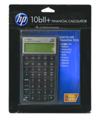 Hp 10Bii+ Business Calculator