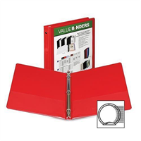 "Samsill 1"" View Binder"