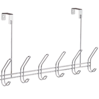 Classico Over The Door Rack, 6 Hooks