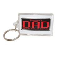 Lucite Dad Key Ring