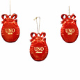 Ruby Red Pewter Ornament Mom, Dad Or Alumni
