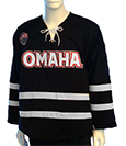 Youth Black Uno Hockey Jersey--Applique'
