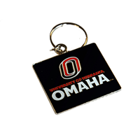 University Of Nebraska Omaha Keychain