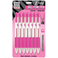 Z-Grip Pink Pen, 7 Pack