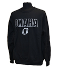 "Black Sweatshirt With Outlined ""Omaha"""
