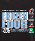 Frozen Four--4 Team T-Shirt In Black---Russell Athletic