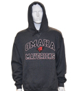 "Black Heather Hood ""Omaha/Bull/Mavericks"" - Russell"