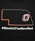 #Blackisthenewred T-Shirt