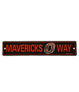 Mavericks Way Street Sign