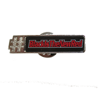 Lapel Pin - #BlackIsTheNewRed