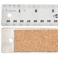 Flexible Stainless Steel Ruler 12""