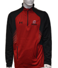 "Crimson And Black 1/4 Zip W/""O"" - Under Armor"