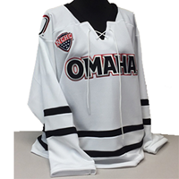 Replica Hockey Jersey, White