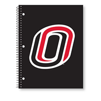 1 Subject Spiral Notebook, 70 Pg. O Logo