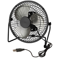 Usb Powered Desk Fan, 6 Inch