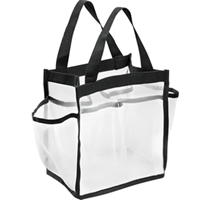 Nylon And Mesh Shower Caddy Tote