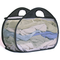 Pop Open Laundry Basket W. Handles