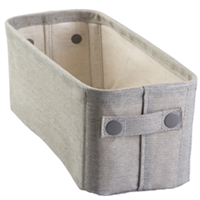 Fabric Storage Bin, Small