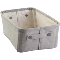Fabric Storage Bin, Medium