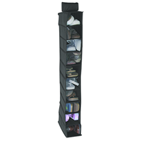 Hanging Shoe Organizer, 10 Shelf