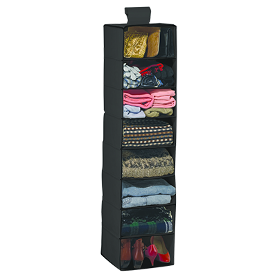 Hanging Closet Organizer, 8 Shelf (SKU 11003915101)