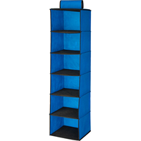 Hanging Closet Organizer, 6 Shelf