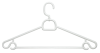 Plastic Swivel Hangers, 5 Pack