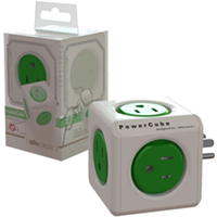 PowerCube 5 Outlet + Surge Protection