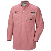 Columbia Gingham Button Down Shirt