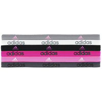 Adidas No-Slip Hairbands, 6 Pack
