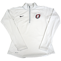 Nike Element Half Zip -White