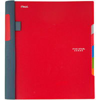 5 Star Advance 5 Subject Notebook, 200 Sheets