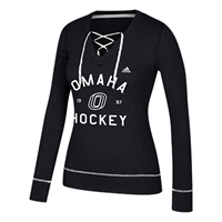 Adidas Hockey Lace-Up Ls Top