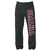 Open Bottom Fleece Pants