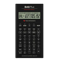 Ti-Ba Ii Plus Professional Financial Calculator