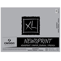 "Canson® Xl® 18"" X 24"" Newsprint 50-Sheet Pad (Fold Over)"
