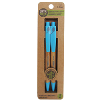 Onyx & Green mechanical pencils, 2 pack