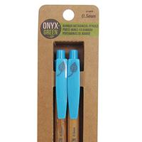 Onyx & Green mechanical pencils, 2 pack