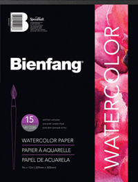 "Bienfang® 9"" x 12"" Watercolor Pad"