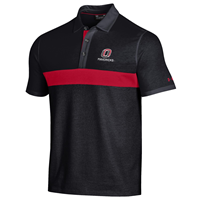 Under Armour Men's Red Stripe O Logo Polo