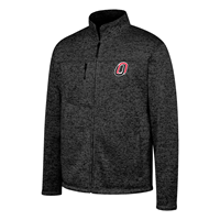 Full Zip O Logo Sweater Jacket