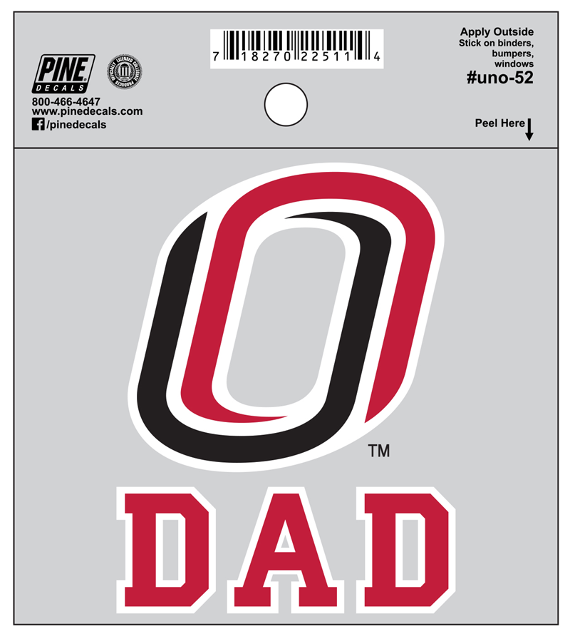 Dad O Logo Decal (SKU 1129198578)