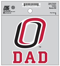 Dad O Logo Decal