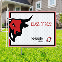 17 X 22 Bull Class of 2021 Yard Sign