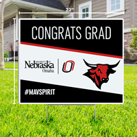 18 X 22 Congrats Grad Yard Sign